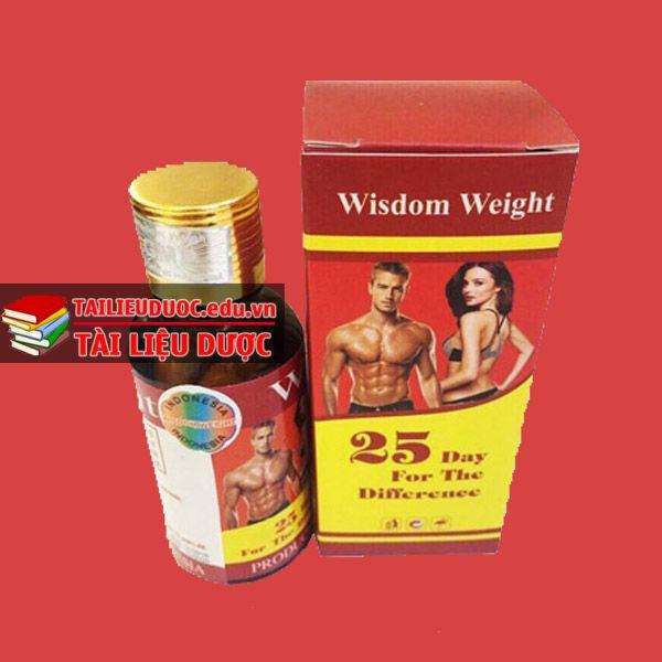 Hình ảnh được chúng tôi chụp chi tiết Thuốc tăng cân Wisdom Weight